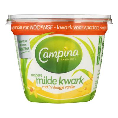 Campina Magere milde kwark vanille