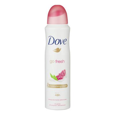 Dove Deodorant spray go fresh pomegranate
