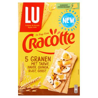 LU Cracotte crackers 5 granen