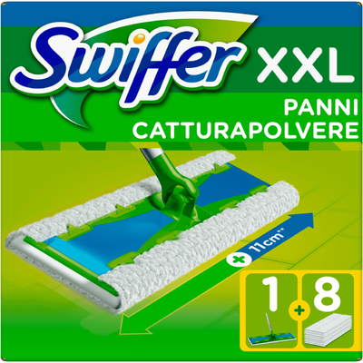 Swiffer Vloerreiniger XXL en 8 stofdoekjes