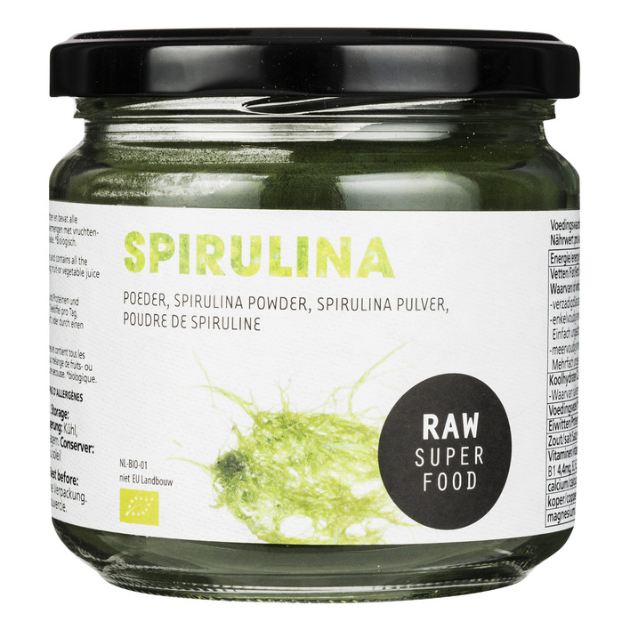 Raw Organic Food Spirulinapoeder