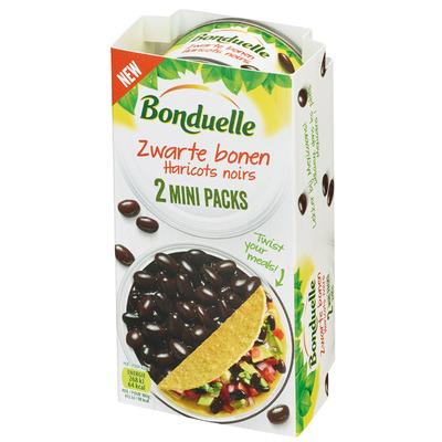 Bonduelle Zwarte bonen mini packs
