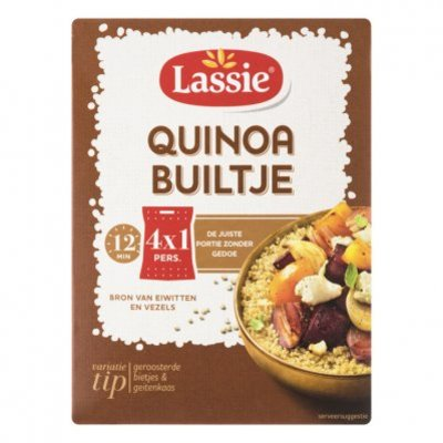 Lassie Builtjes quinoa