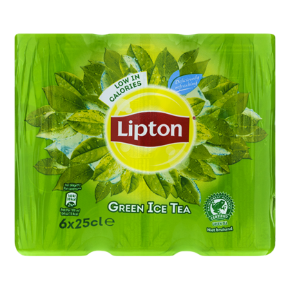 Lipton Ice tea green slimcan