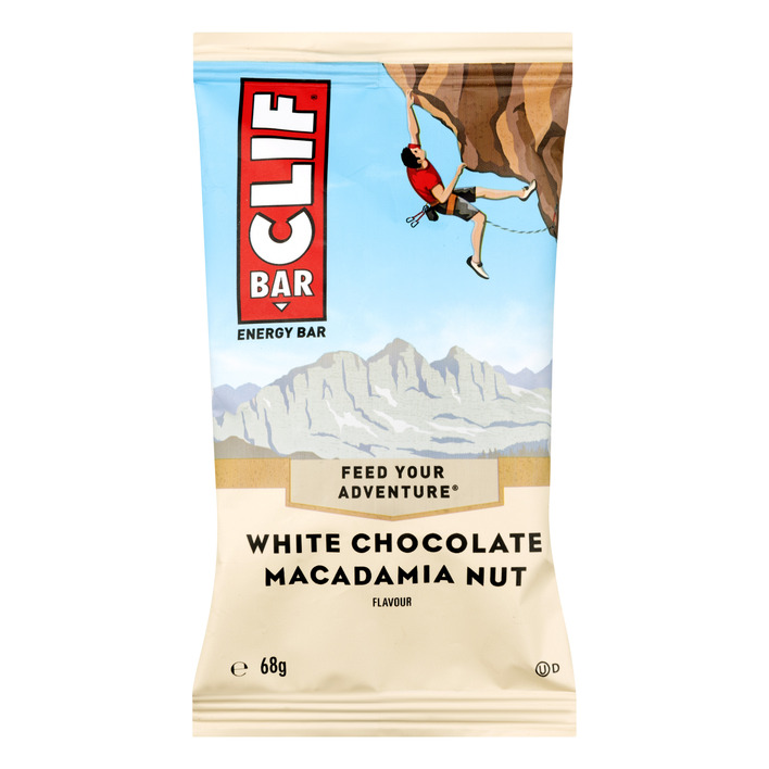 Clif Bar White chocolate-macadamia nuts