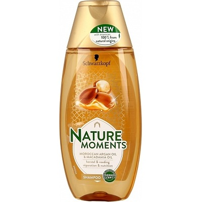 Schwarzkopf Shampoo natural moments Moroccan argan oil & macadamia oil
