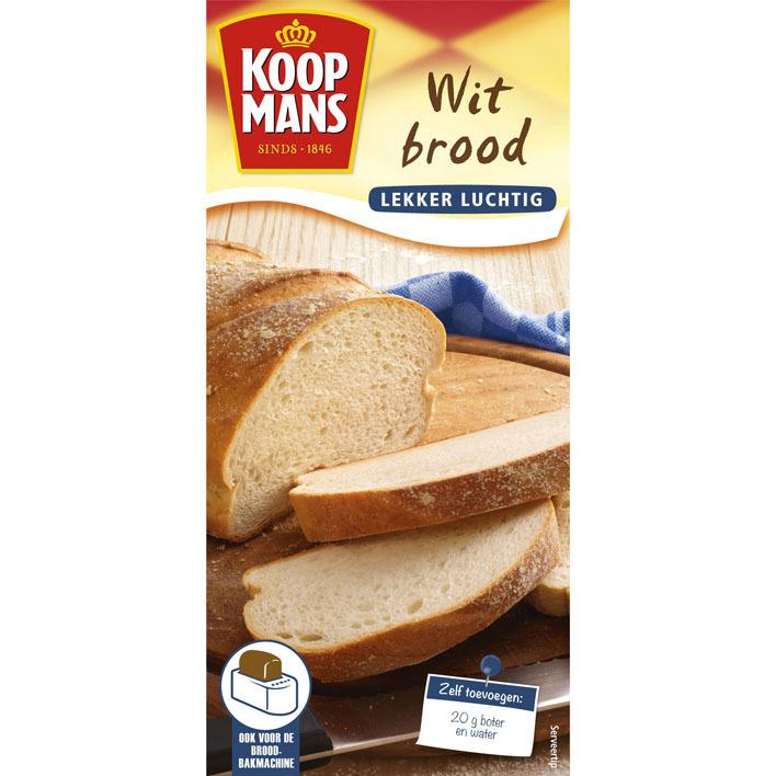 Koopmans Broodmix wit