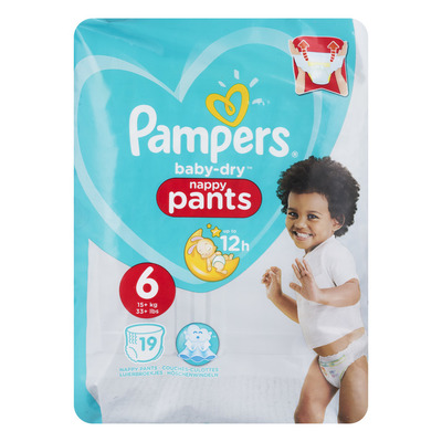Pampers Baby-dry Pants maat 6