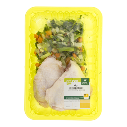 Huismerk Kipsoeppakket met groenten