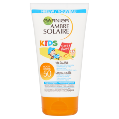 Ambre Solaire Kids Wet Skin Lotion SPF 50+