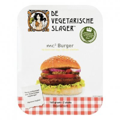 Vegetarische Slager Mc2 burger