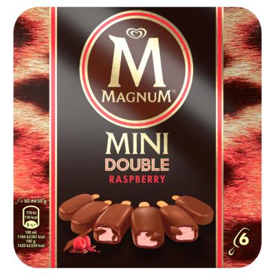 Magnum Dpuble raspberry mini 6x60ml