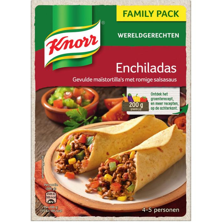 Knorr Wereldgerechten enchilada