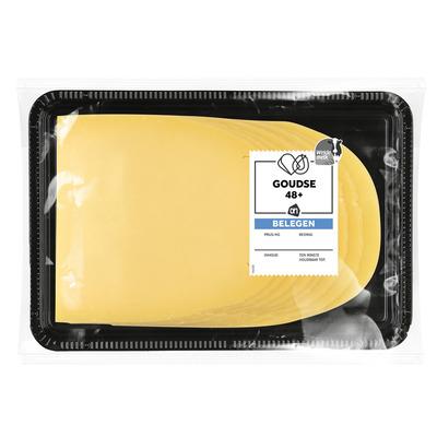 Huismerk Goudse kaas belegen 48+ plakken