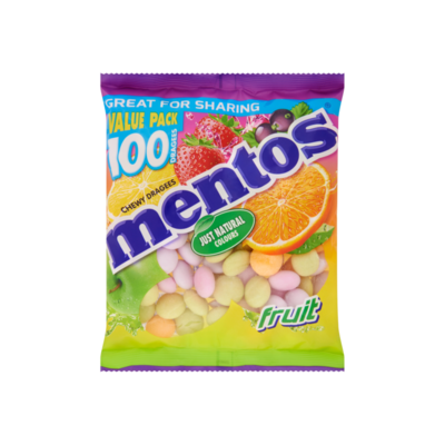 Mentos Chewy Dragees Fruit
