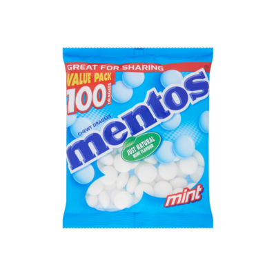 Mentos Chewy Dragees Mint