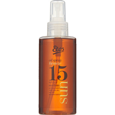 Etos Sun oil bronze spray SPF 15
