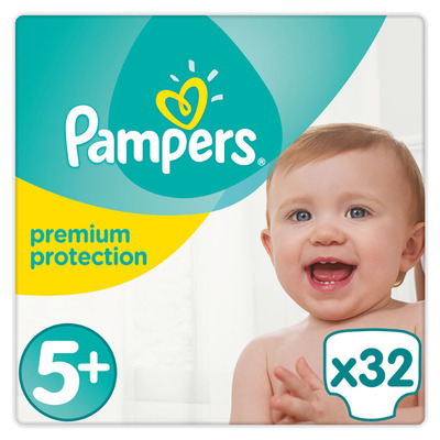 Pampers Premium protection value pack jr+ S5+
