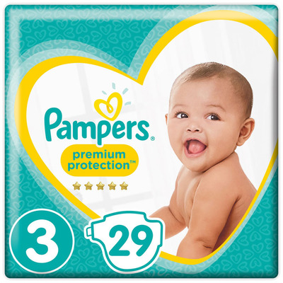 Pampers Premium protection midi S3