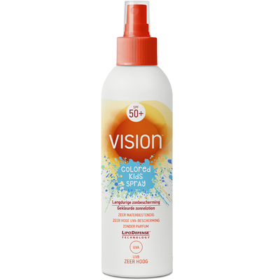 Vision zonnebrand kids spray SPF 50