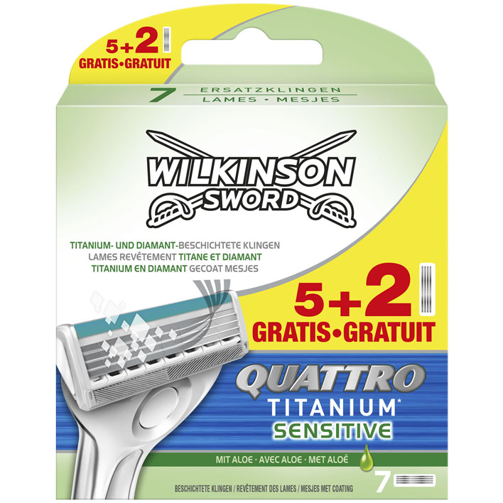 Wilkinson Sword quatro titanium sensitive