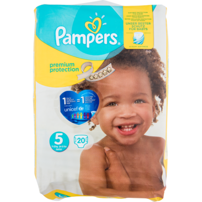 Pampers Premium protection junior
