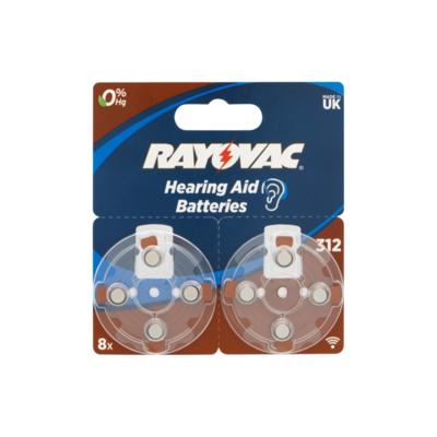 Rayovac Hearing Aid Batteries 1,45 V