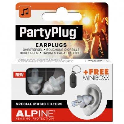 Alpine Partyplug oordoppen tegen muziek