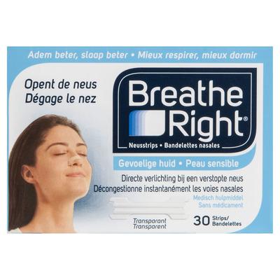 Breathe Right Neusstrips clear