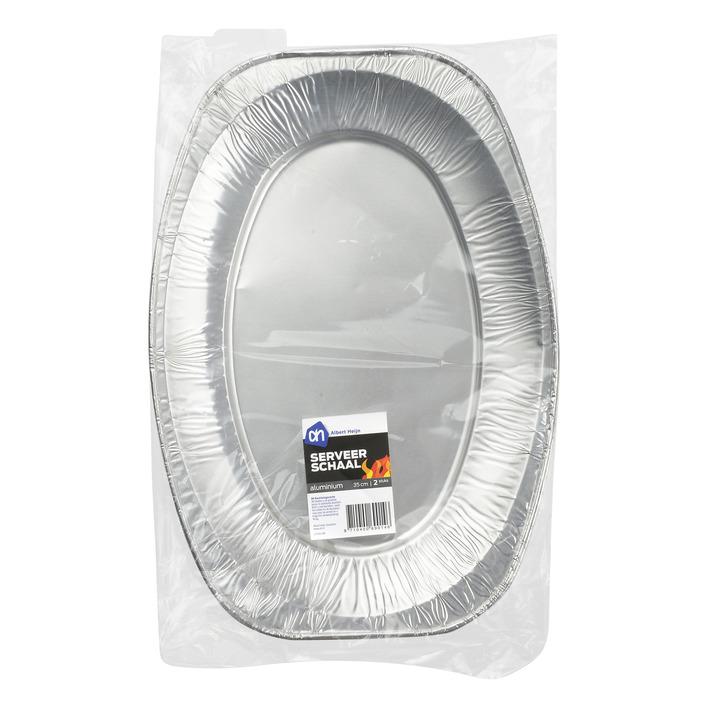 Huismerk Aluminium serveerschaal 35 cm