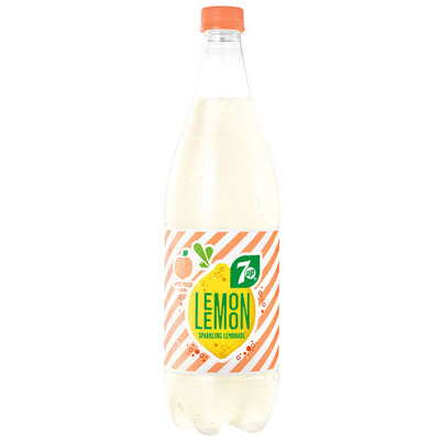 7-Up Lemon lemon white peach