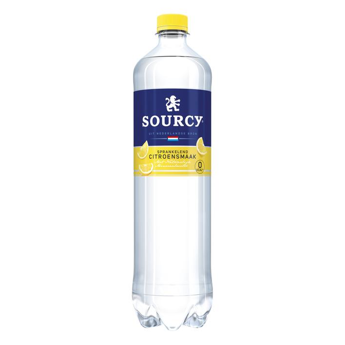 Sourcy Citroen koolzuurhoudend mineraal water