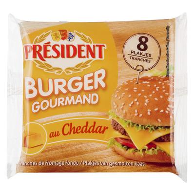 Président Burger gourmand au cheddar