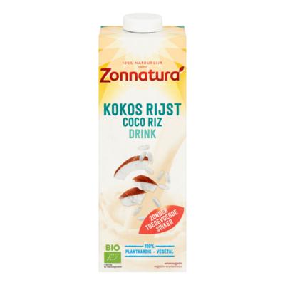 Zonnatura Kokos Rijst Drink