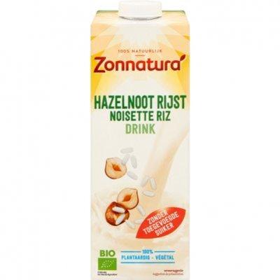 Zonnatura Hazelnoot rijst drink biologisch