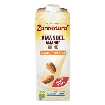 Zonnatura Amandel drink ongezoet