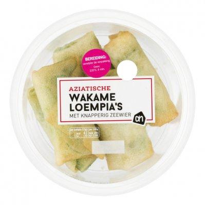 Huismerk Wakame loempia's met knapperig zeewier