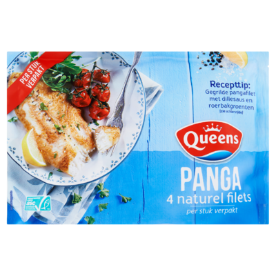 Queens Panga 4 Naturel Filets 500 g
