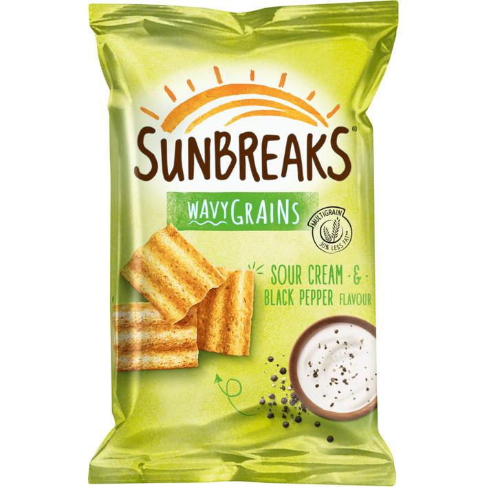 Sunbreaks Meergranen chips zure room & peper