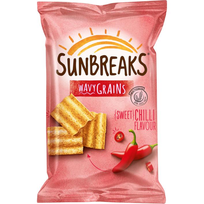 Sunbreaks Meergranen chips sweet chilli