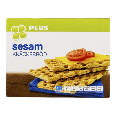 Huismerk Knäckebröd Sesam 4 x 5 Stuks