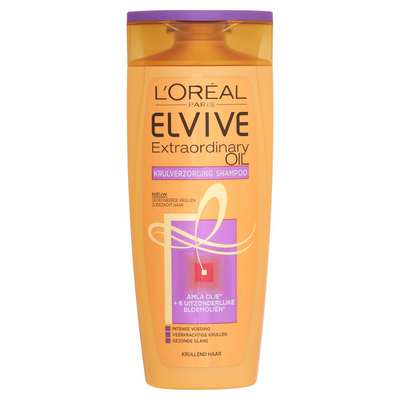 Elvive Extraordinary Oil Krulverzorging Shampoo 250 ml