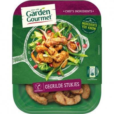 Garden Gourmet Vegetarische gegrilde stukjes