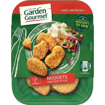 Garden Gourmet Vegetarische nuggets chicken style