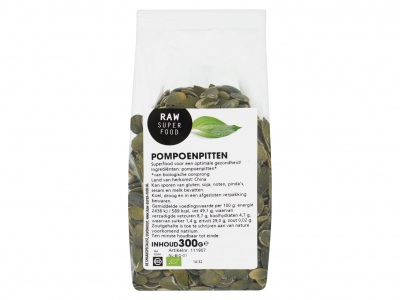 Raw Superfood Pompoenpitten