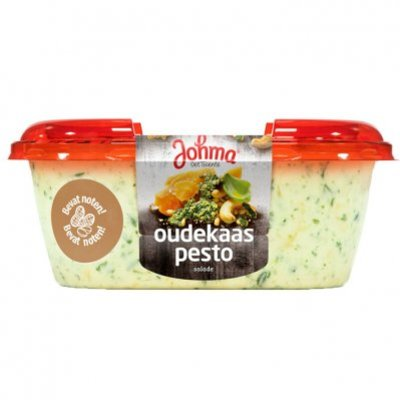 Johma Oudekaas-pesto salade