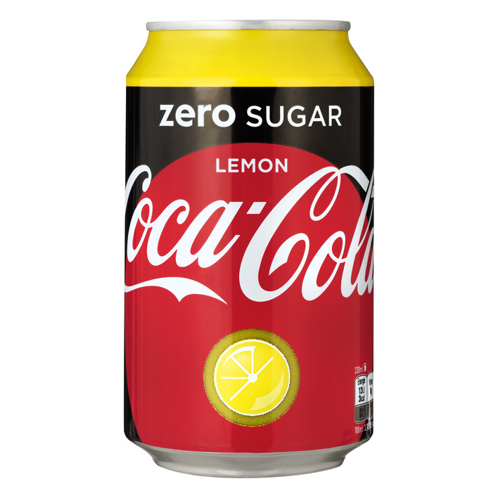 Coca-Cola Zero lemon blik