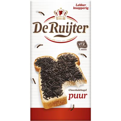 De Ruijter Chocolade hagel puur