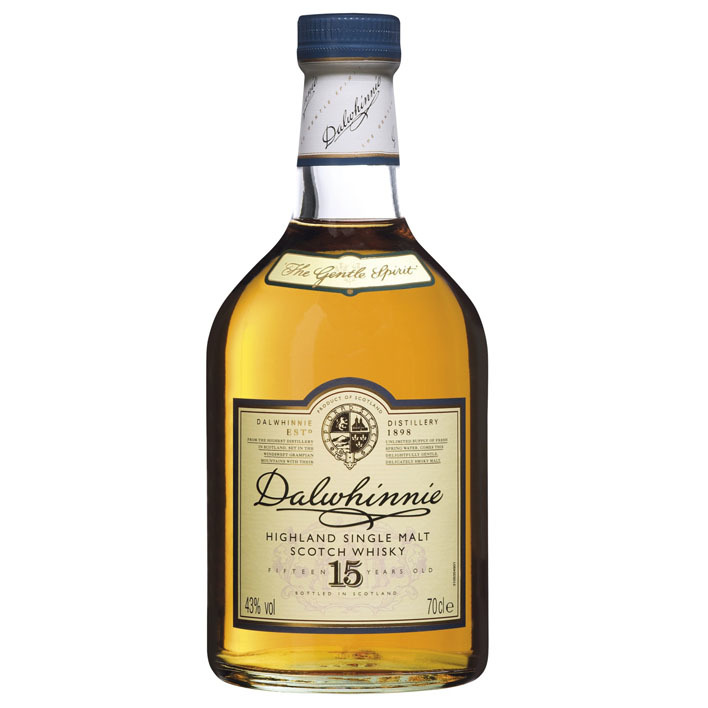 Dalwhinnie Single malt Scotch whisky 15 years