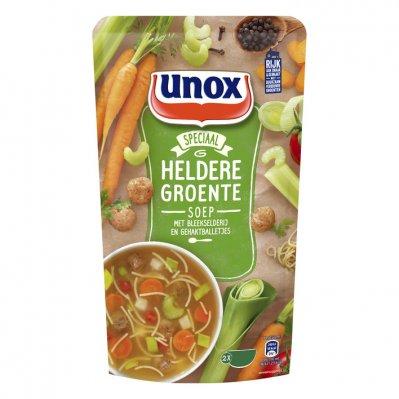 Unox Soep in zak Hollandse groentesoep